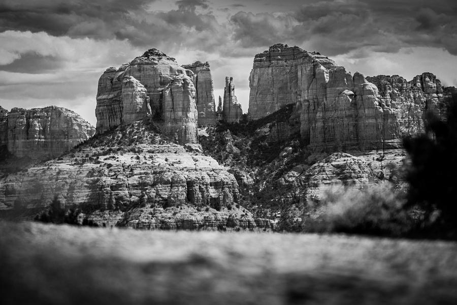 Arizona Photograph - Cathedral Rock by Robert Davis