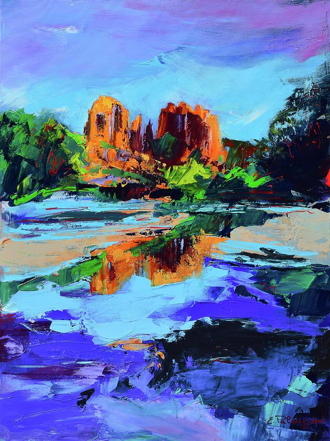 Cathedral Rock - Sedona by Elise Palmigiani
