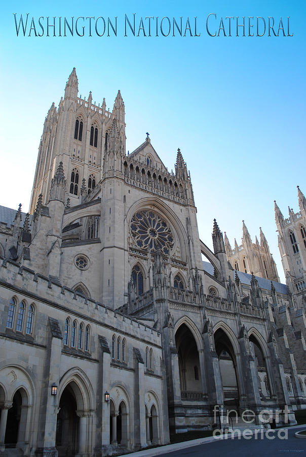 Washington Photograph - Cathedral Travel by Jost Houk