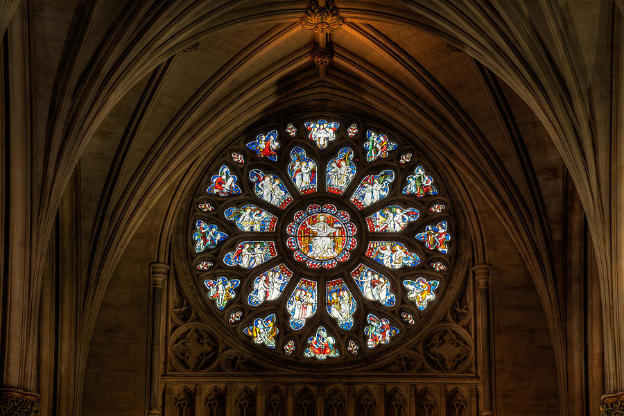 Cathedral Photograph - Cathedral Window by Adrian Evans