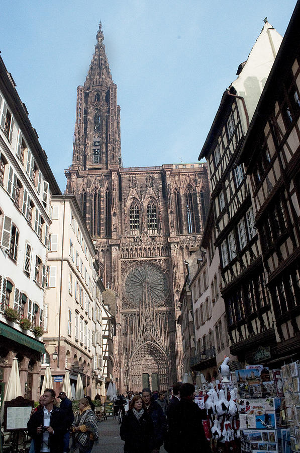 Strasbourg Photograph - Cathedral2414 by Charles  Ridgway