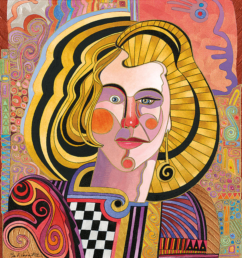 Portrait Paintings Painting - Catherine by Bob Coonts