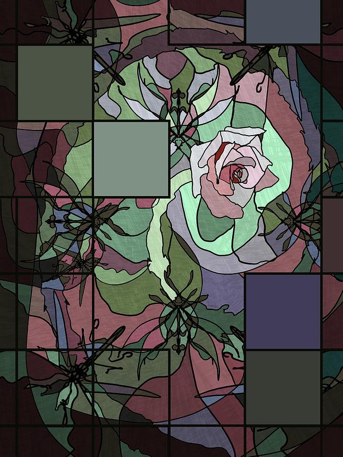 Floral Digital Art - Catherine Mermet by Isamolle Eidem