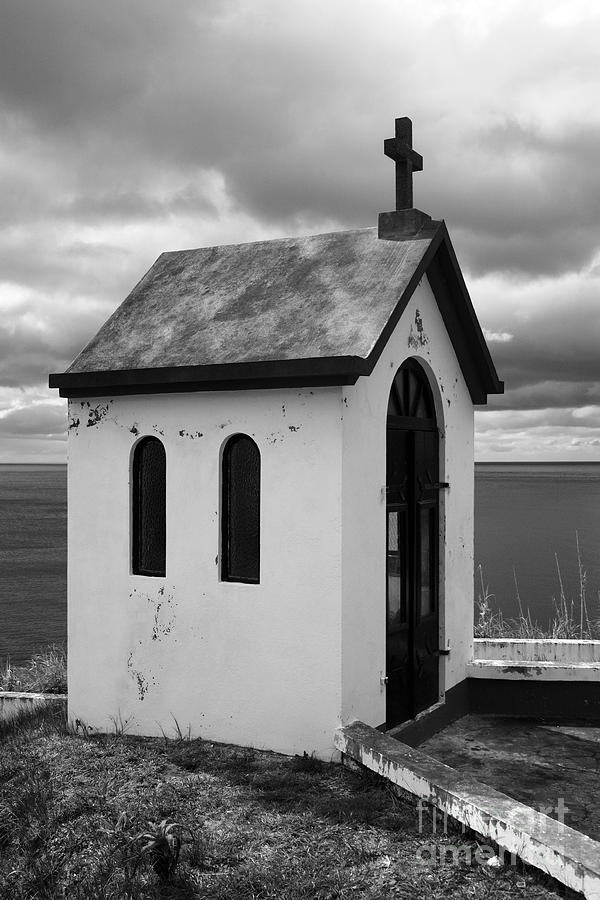 Azores Photograph - Catholic Chapel by Gaspar Avila