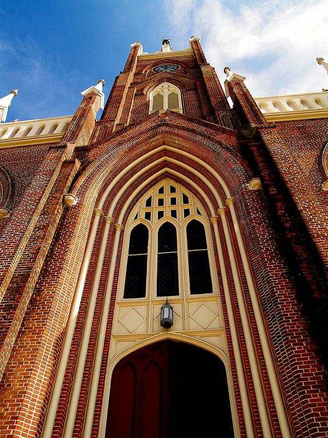 Church Photograph - Catholic by Lacey Inman