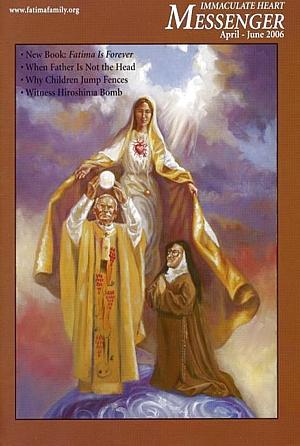 Pope John Paul Ii Print - Catholic Magazine Immaculate Heart Messenger by Mark Sanislo