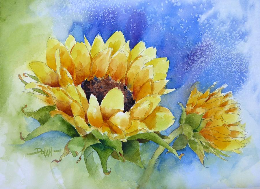 Cathy's Sunflower by Pat Dolan