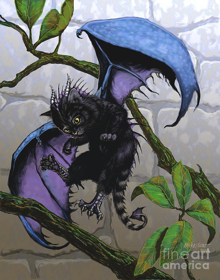 Fantasy Digital Art - Catragon by Stanley Morrison