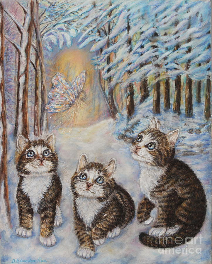 Cats And The Snow Fairy