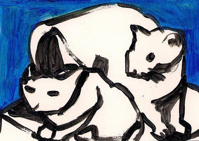 Pet Painting - Cats. by Samuel Zylstra