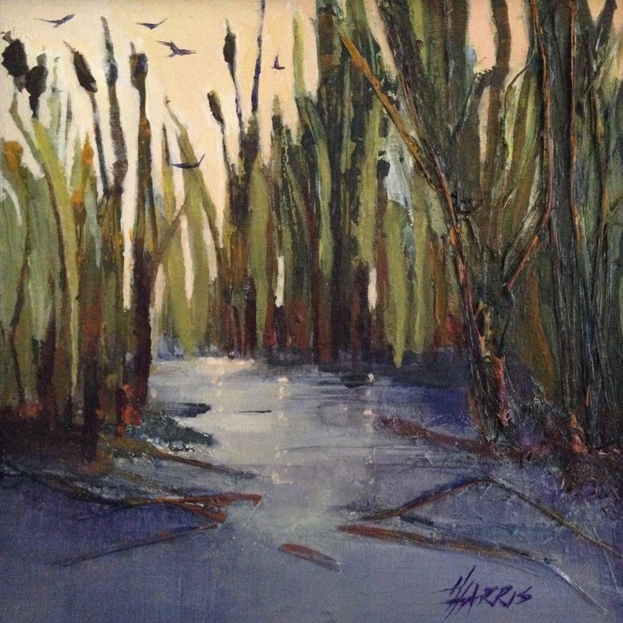 Cattails by Helen Harris