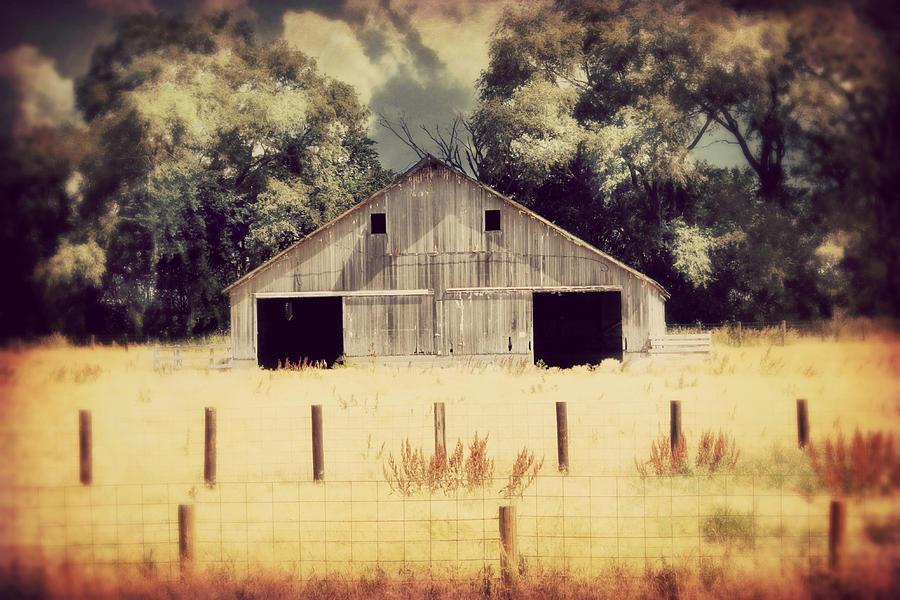 Hwy 3 Barn Photograph
