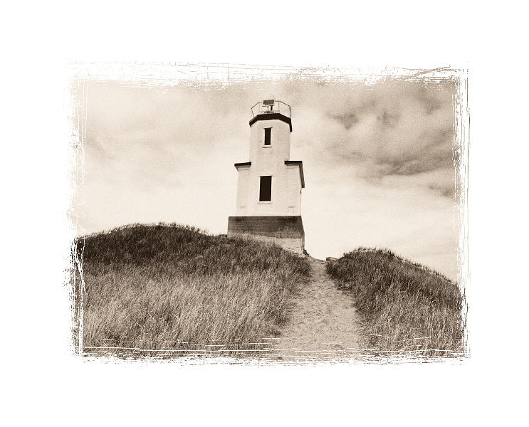 Landscape Photograph - Cattle Point Lighthouse by Paul Aiello