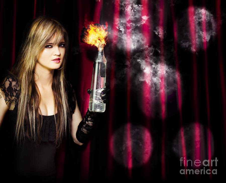 Act Photograph - Caught In The Act Of Setting The Stage On Fire by Jorgo Photography - Wall Art Gallery