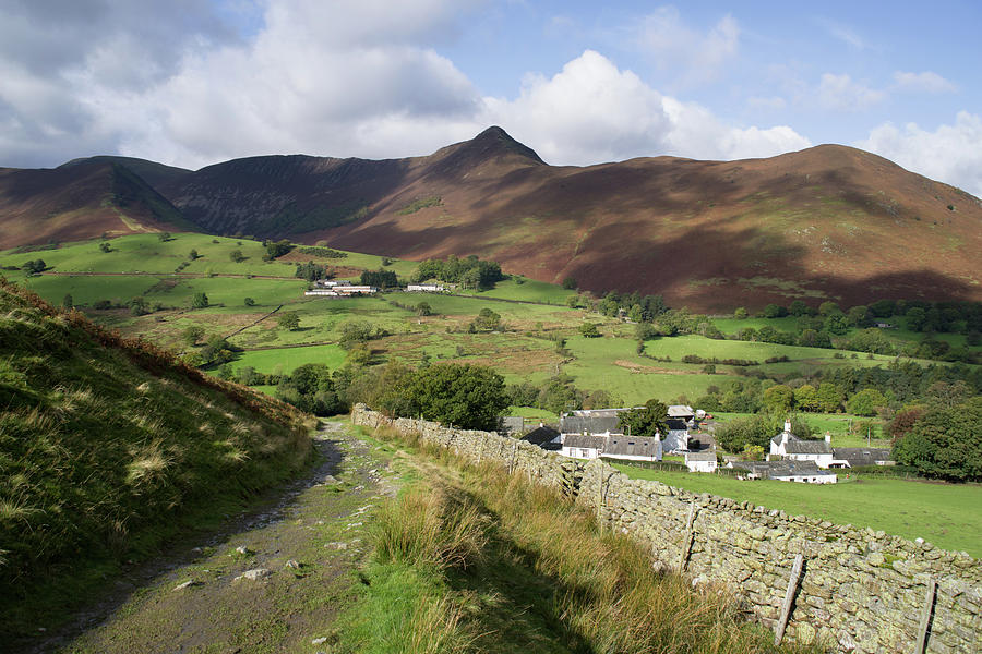 Causey Pike from Little Town by Pete Hemington