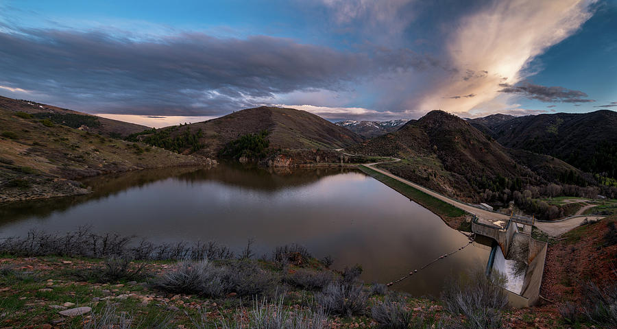 Landscape Photograph - Causey Spring Sunset by Justin Johnson