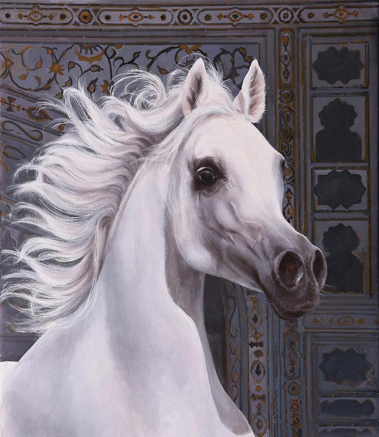 Cavallo A Punta Painting