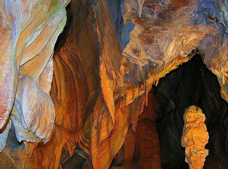 Cheddar Gorge Photograph - Cave At Cheddar Gorge  by Jen White