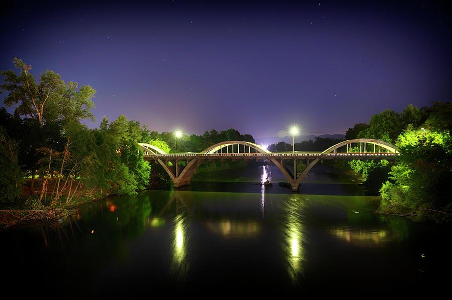 Water Photograph - Caveman Bridge by Cat Connor