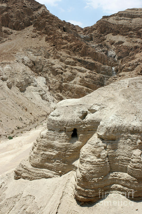 Caves of the Dead Sea Scrolls by Steven Frame