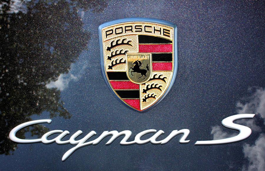 Porsche Photograph - Cayman S by Kristin Elmquist
