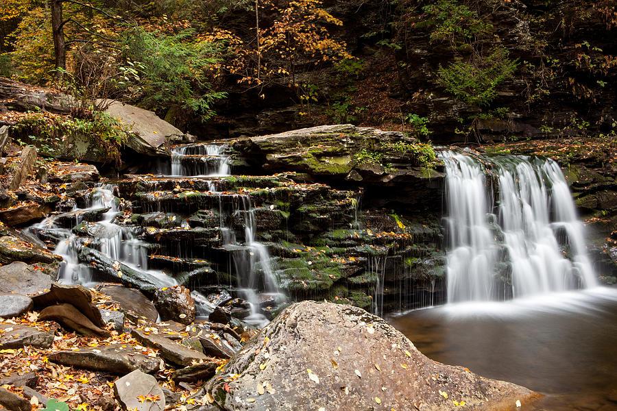Waterfall Photograph - Cayuga Falls by John Daly