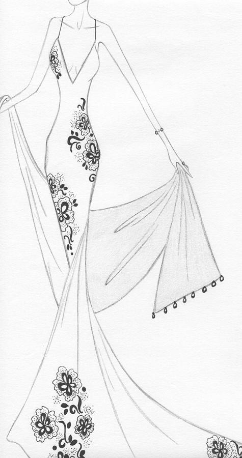 Cb15 Drawing by Christine Corretti