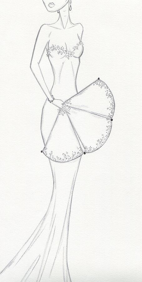 Drawing - Cb24 by Christine Corretti
