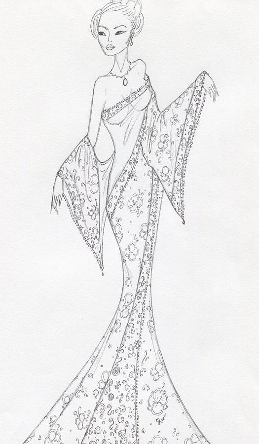 Cb27 Drawing by Christine Corretti