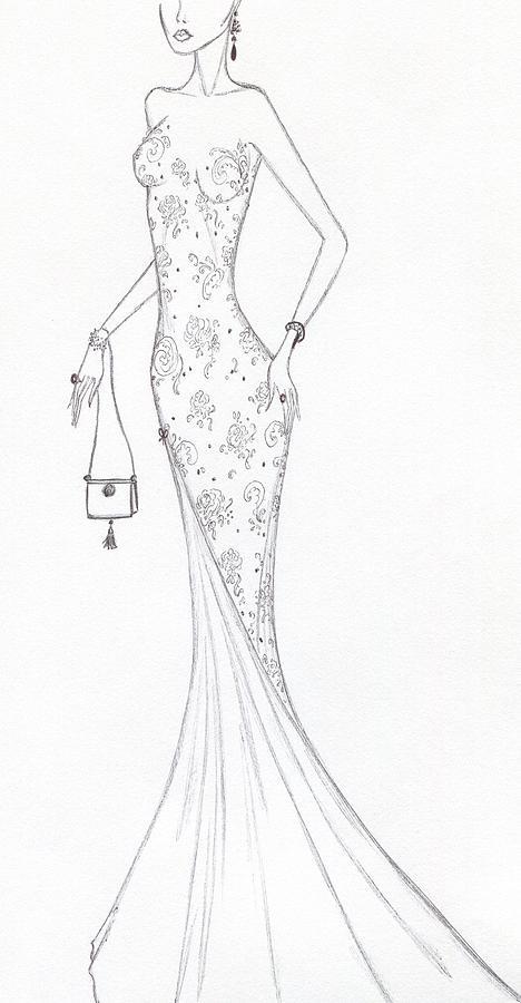 Cb46 Drawing by Christine Corretti