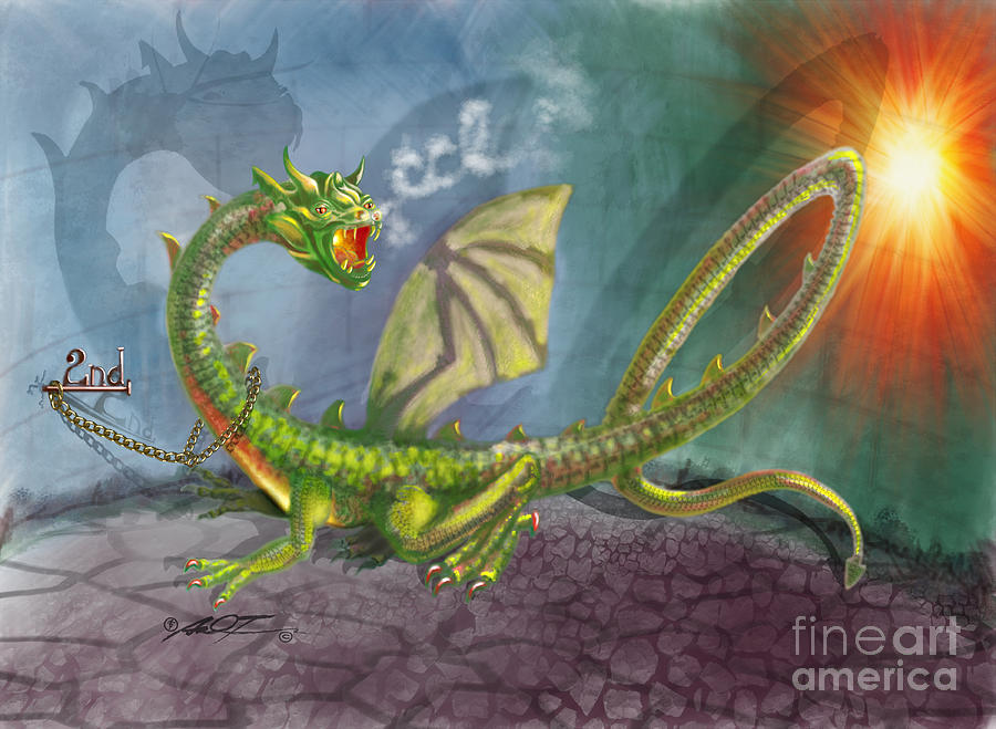 Concealed Carry Dragon by Dale Turner