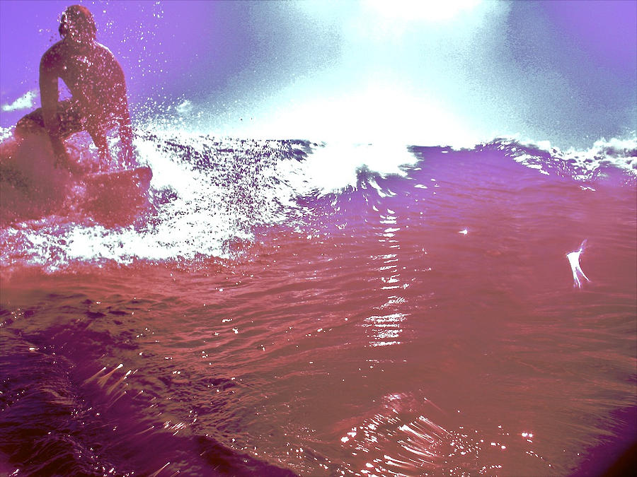 Surf Photograph - C.d. Launch by Joshua Ackerman