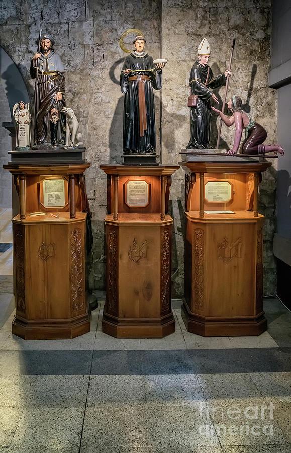 Catholic Photograph - Cebu Statues by Adrian Evans