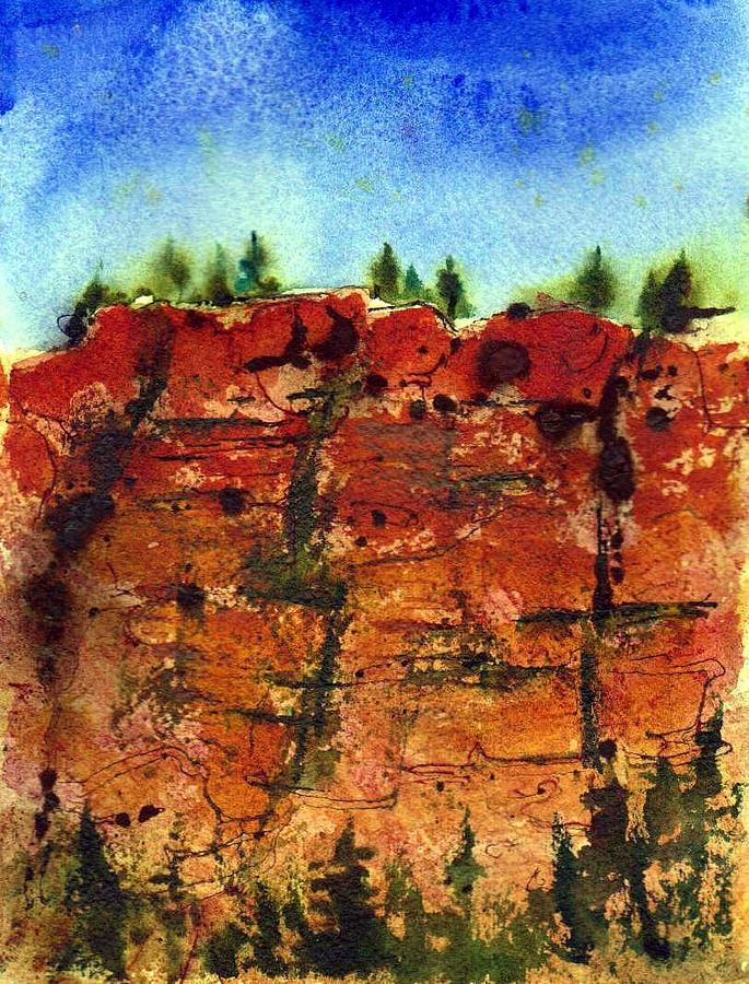 Utah Painting - Cedar Breaks by Anne Duke