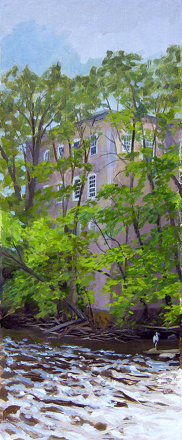 Plein Air Painting - Cedar Creek Winery by Anthony Sell