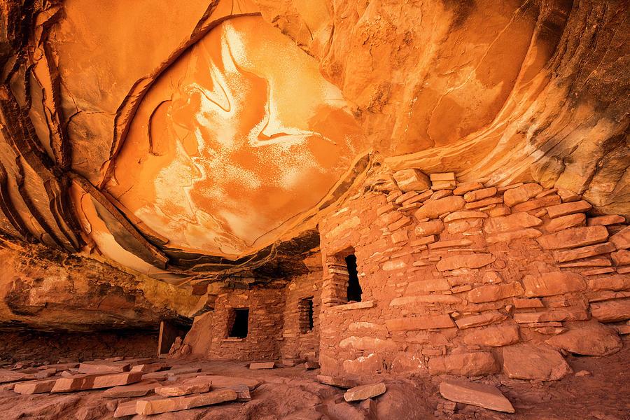 Cedar Mesa Ruins Photograph