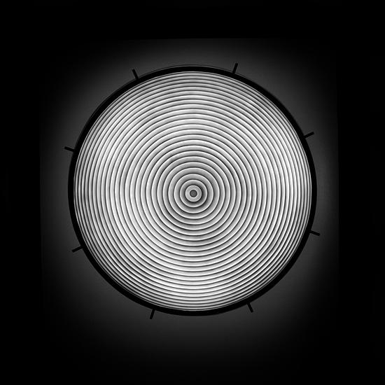 B&w Photograph - Ceiling Lamp Rodizio Grill by Cole Thompson