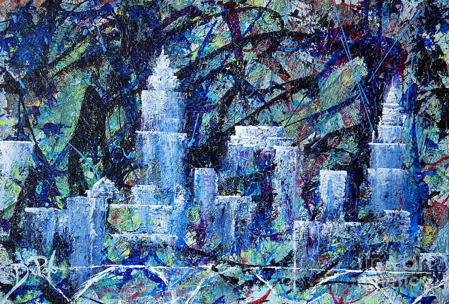 Cleveland Painting - Celebrate Cle by JoAnn DePolo