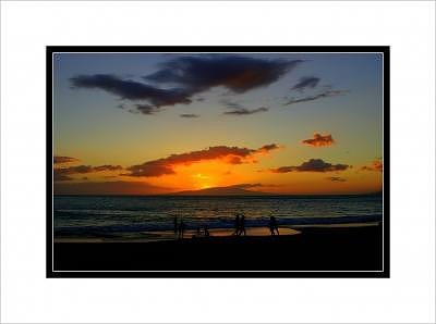 Hawaiian Sunset Photograph - Celebrate The Evening by Terry Anderson