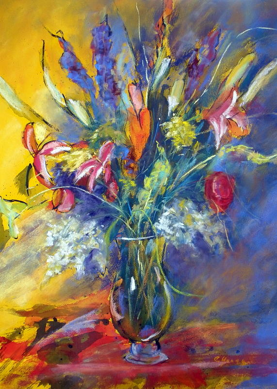 Celebration Painting by Caryl Joy Young