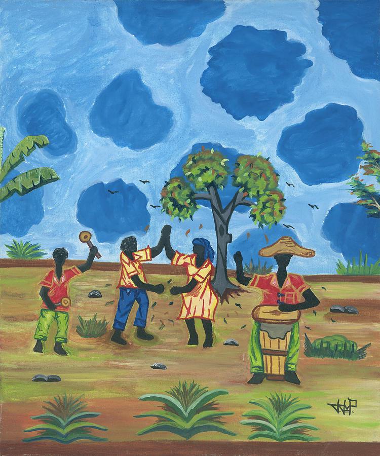 Jojo Painting - Celebration by John Paul Joseph