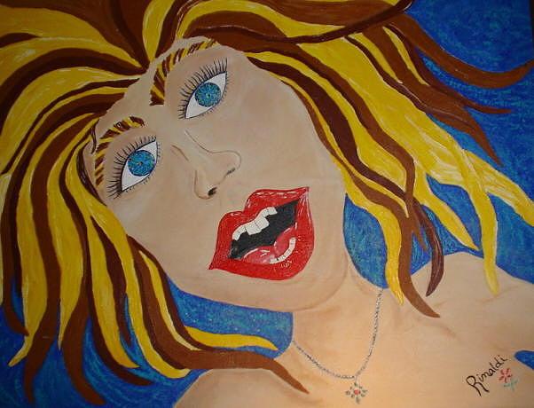 Women Painting - Celebration Of Thirty by Angela Rinaldi