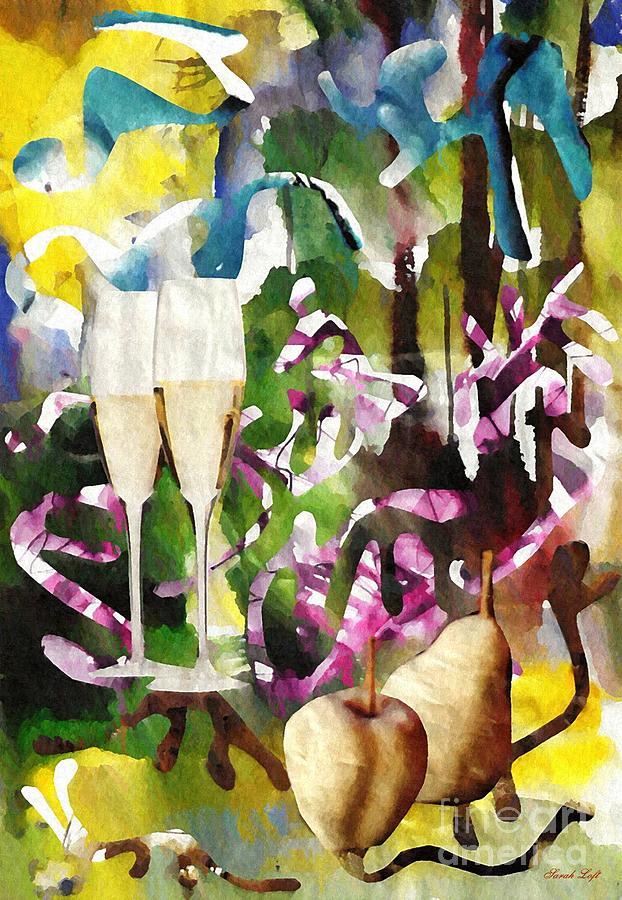 Party Mixed Media - Celebration by Sarah Loft