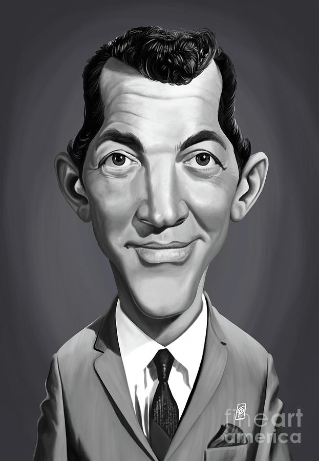 Celebrity Sunday - Dean Martin by Rob Snow