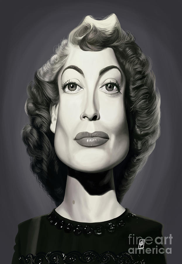 Celebrity Sunday - Joan Crawford by Rob Snow