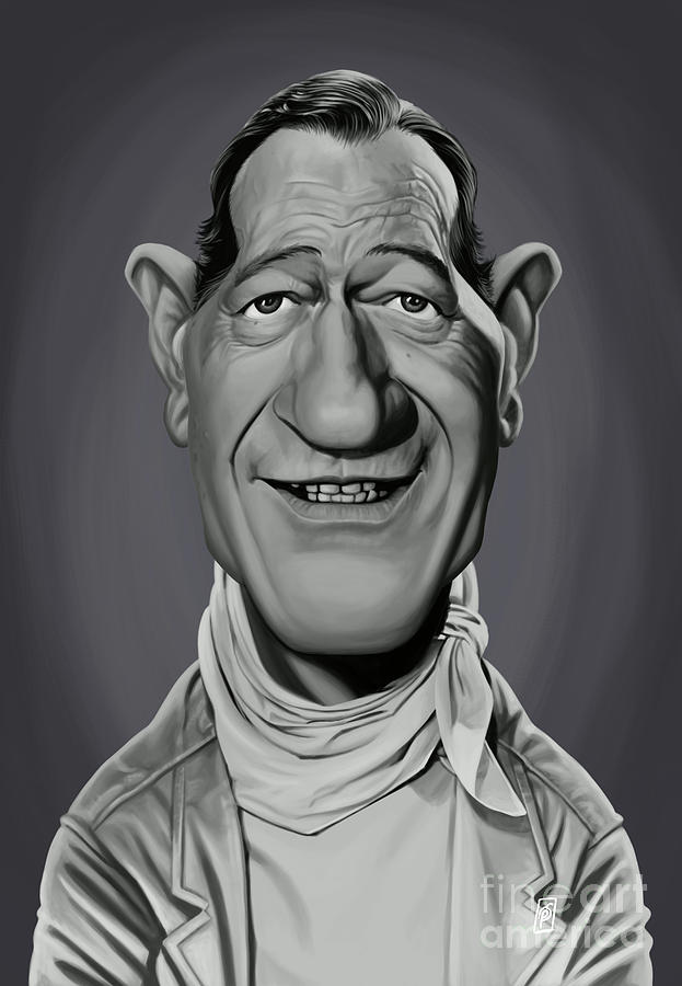 Celebrity Sunday - John Wayne by Rob Snow