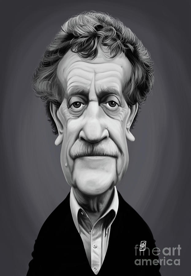 Celebrity Sunday - Kurt Vonnegut by Rob Snow