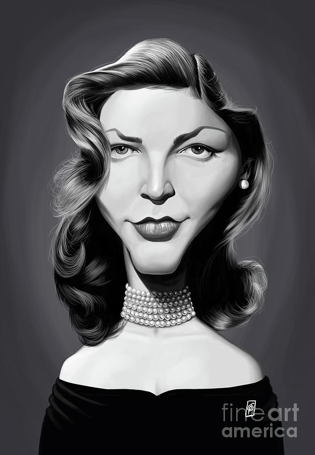 Celebrity Sunday - Lauren Bacall by Rob Snow