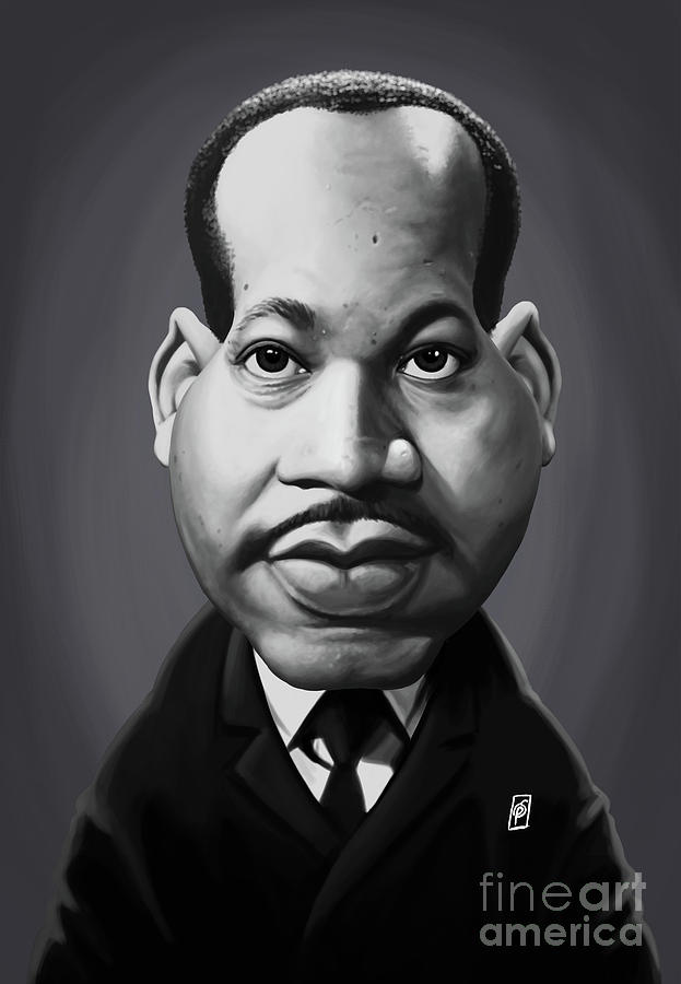 Celebrity Sunday - Martin Luther King by Rob Snow