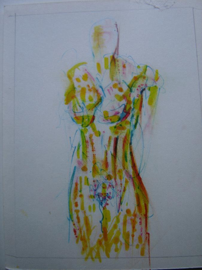 Nude Drawing - Celery by Dean Corbin